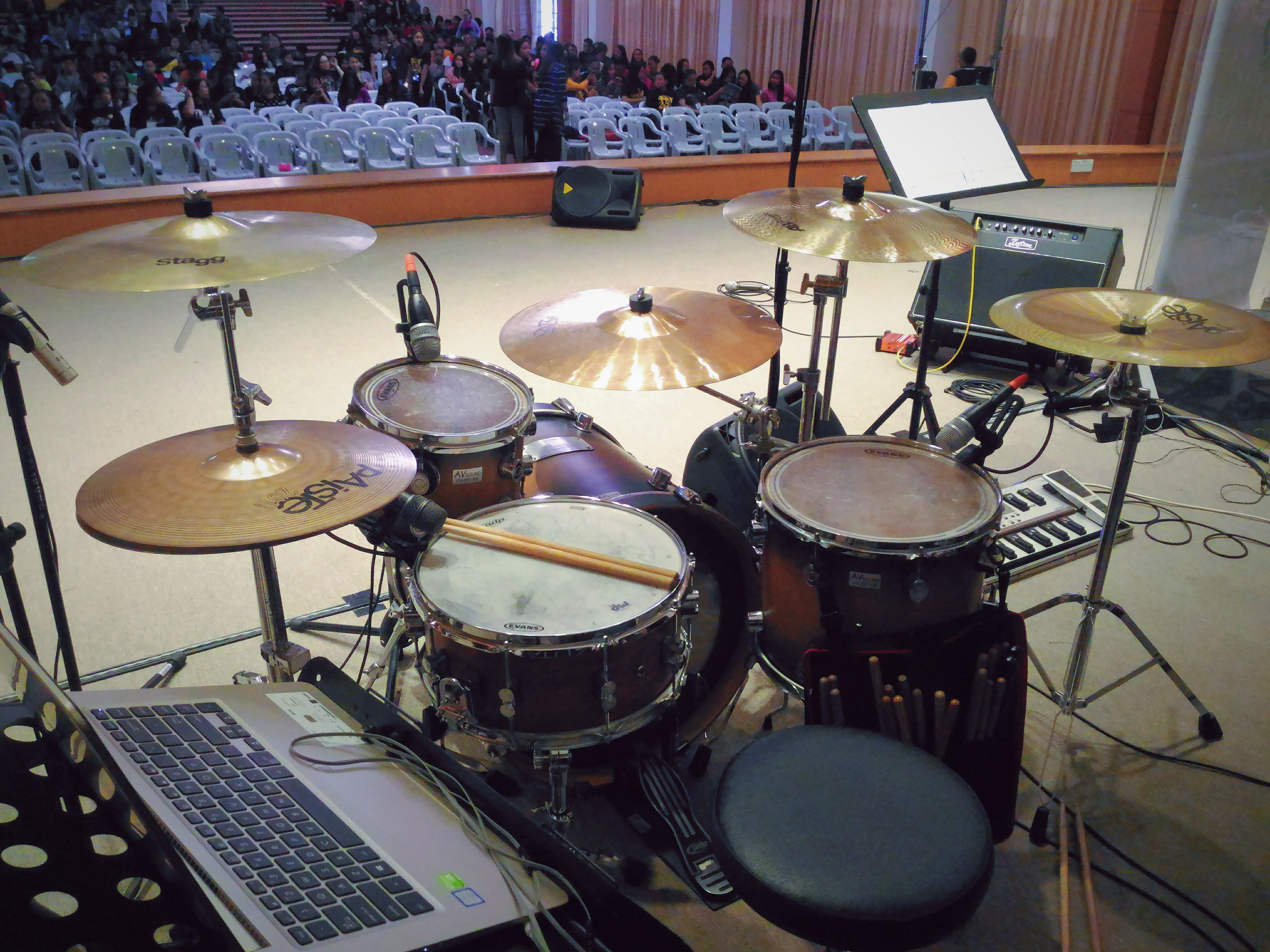 john bonham drum kit